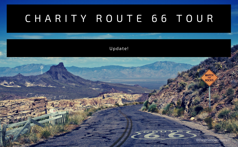 A Slight Change in Plans! – My Route 66 Charity Tour